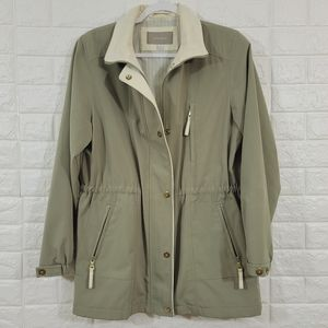 Croft and Barrow trench jacket,Size S